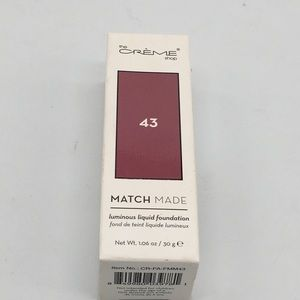 The Creme Shop Match Made Liquid Foundation 43
